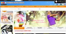 CobraPuma : multi-sites de Golf Plus