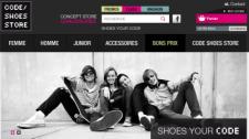 Code Shoes Store - boutique en ligne de chaussures