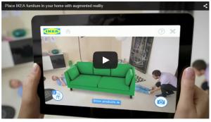 Réalité augmentée - IKEA
