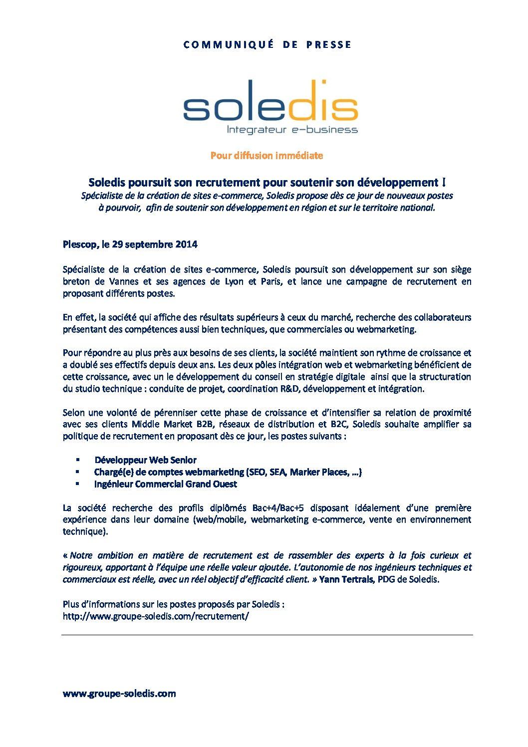 SOLEDIS_CampagneRecrutement