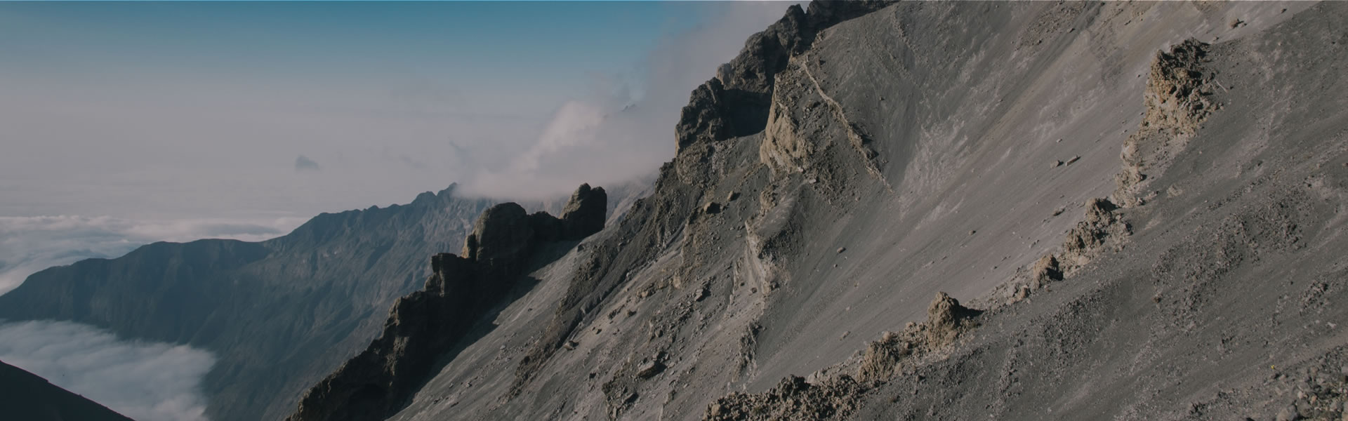 bandeau montagne nuit paysage