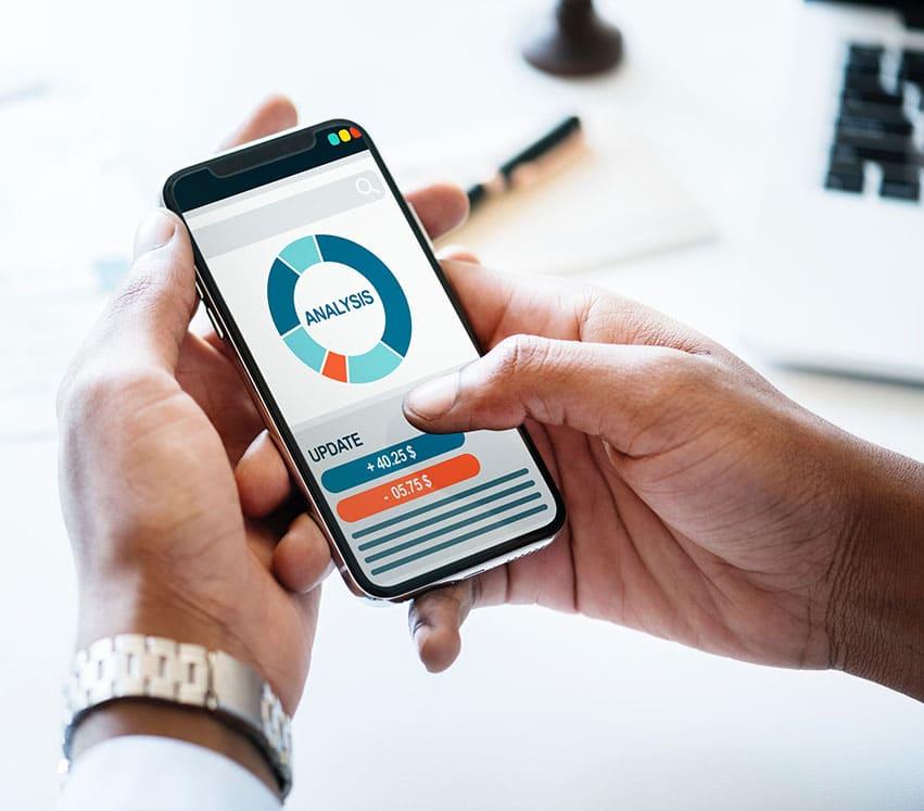 business intelligence BI cellphone mobile