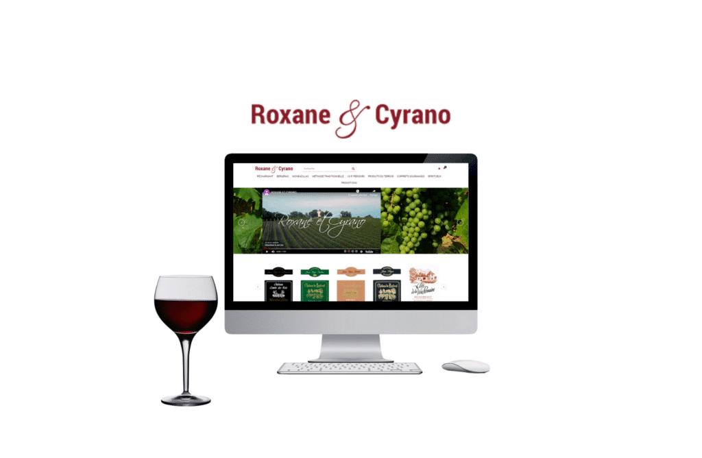 refonte site internet Roxane et Cyrano