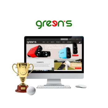 développement site internet Green's à rennes