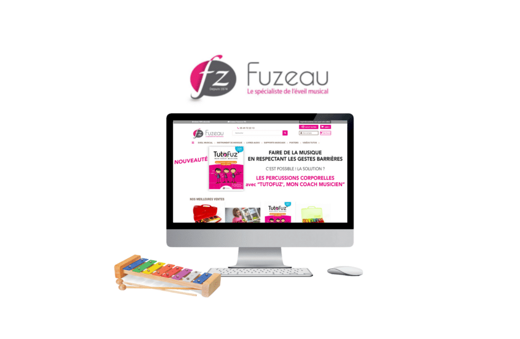 site e-commerce prestashop fuzeau à lorient