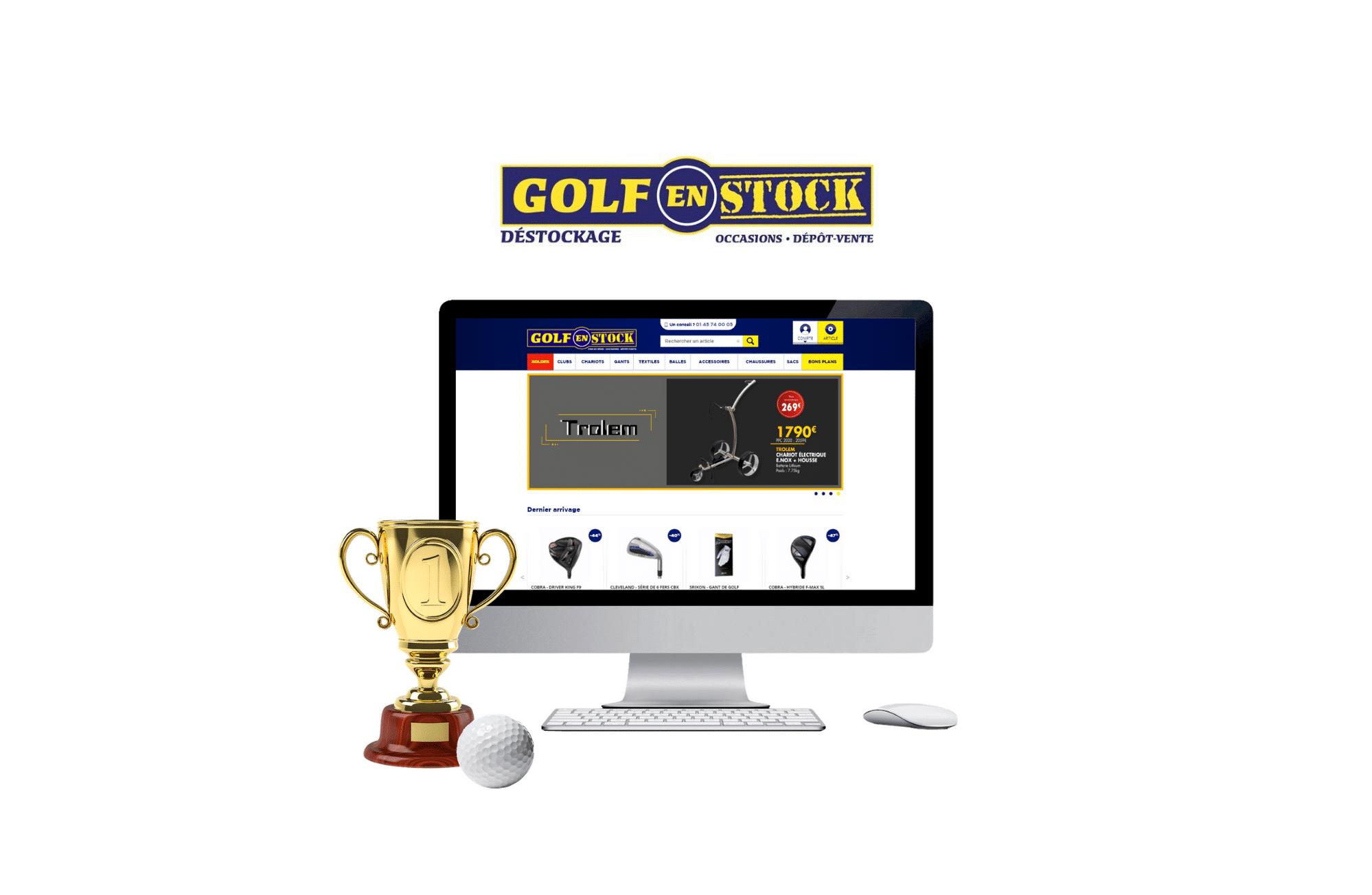 développement site internet golf en stock à vannes