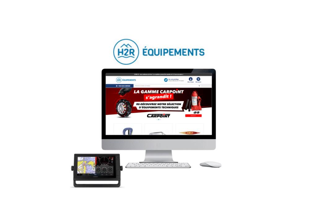développement site web prestashop H2R Equipements à vannes
