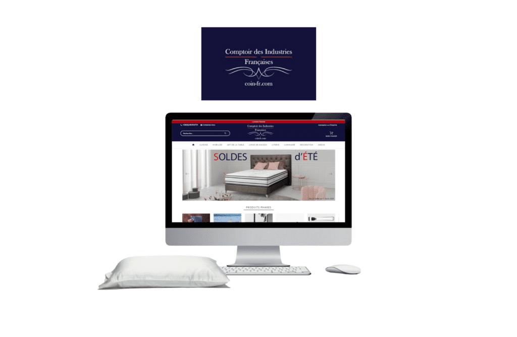 développement site internet golf Comptoir des Industries Françaises