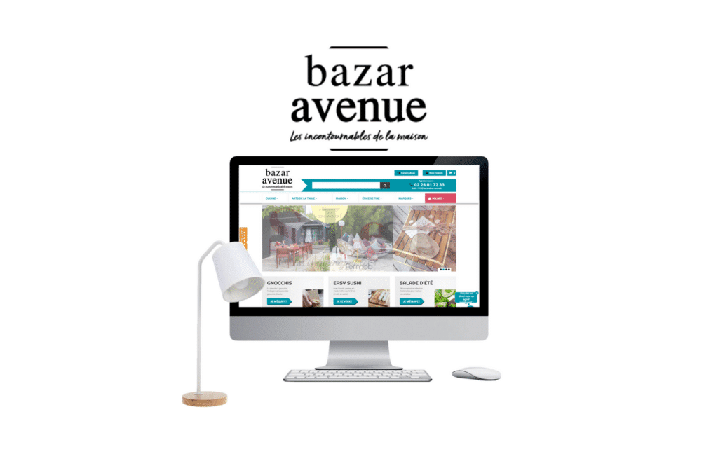 site e-commerce prestashop bazar avenue à paris