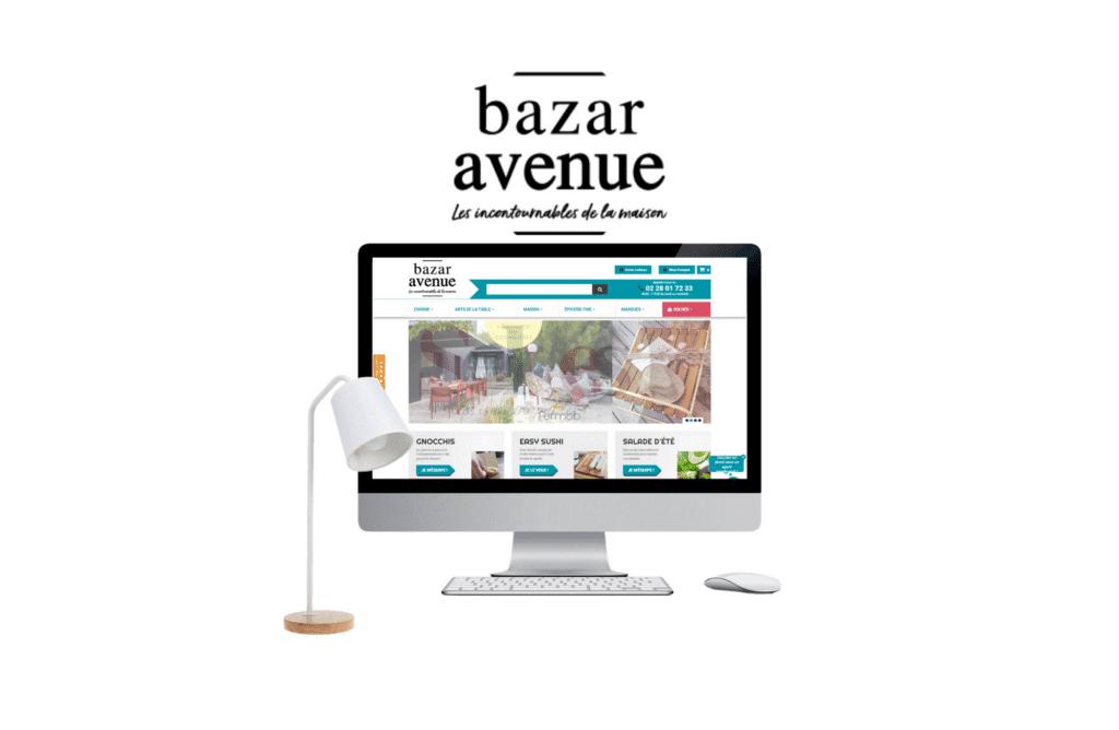 site e-commerce prestashop bazar avenue à paris