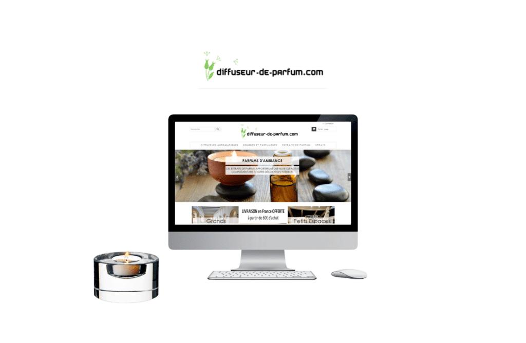 création de site internet prestashop Diffuseur de Parfum à vannes