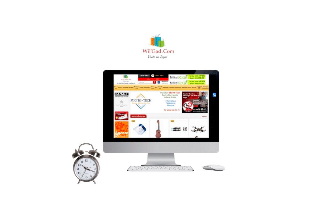 création de site internet prestashop wilgad à paris