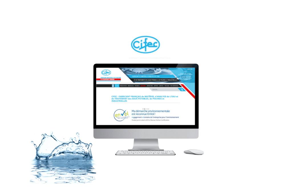 site web b to b prestashop CIFEC à rennes
