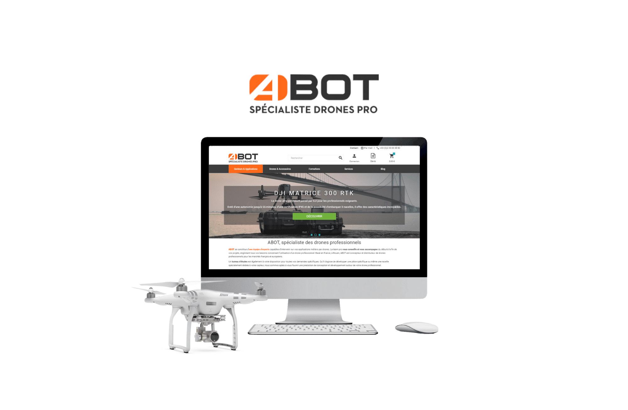 site e-commerce prestashop ABOT à bordeaux
