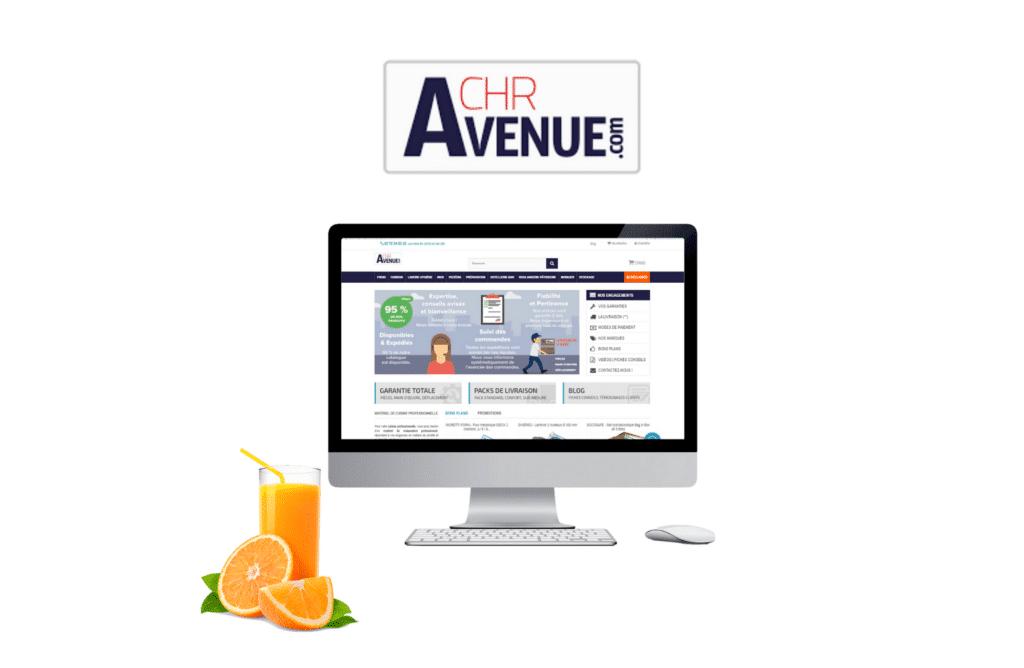 développement site btob CHR Avenue