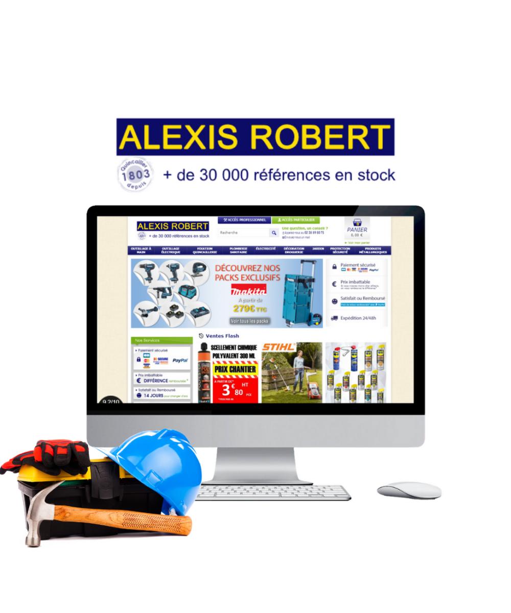 création site e-commerce prestashop Dompro à nantes