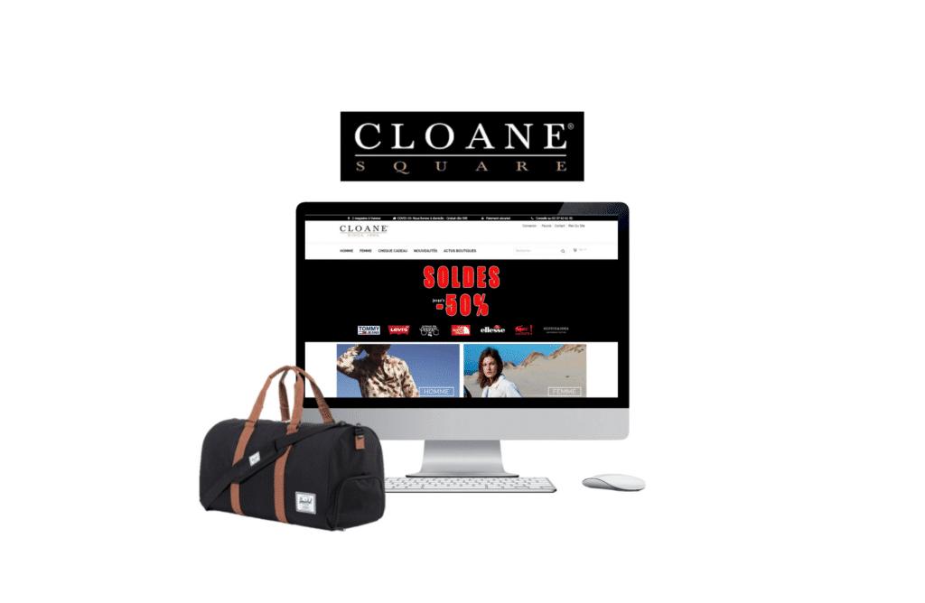création site internet prestashop nantes Cloane Square