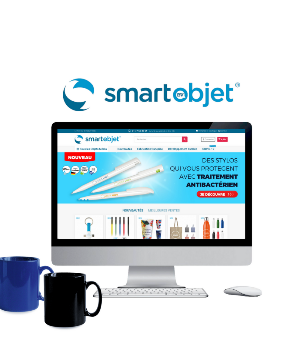 création site prestashop nantes smartobjet