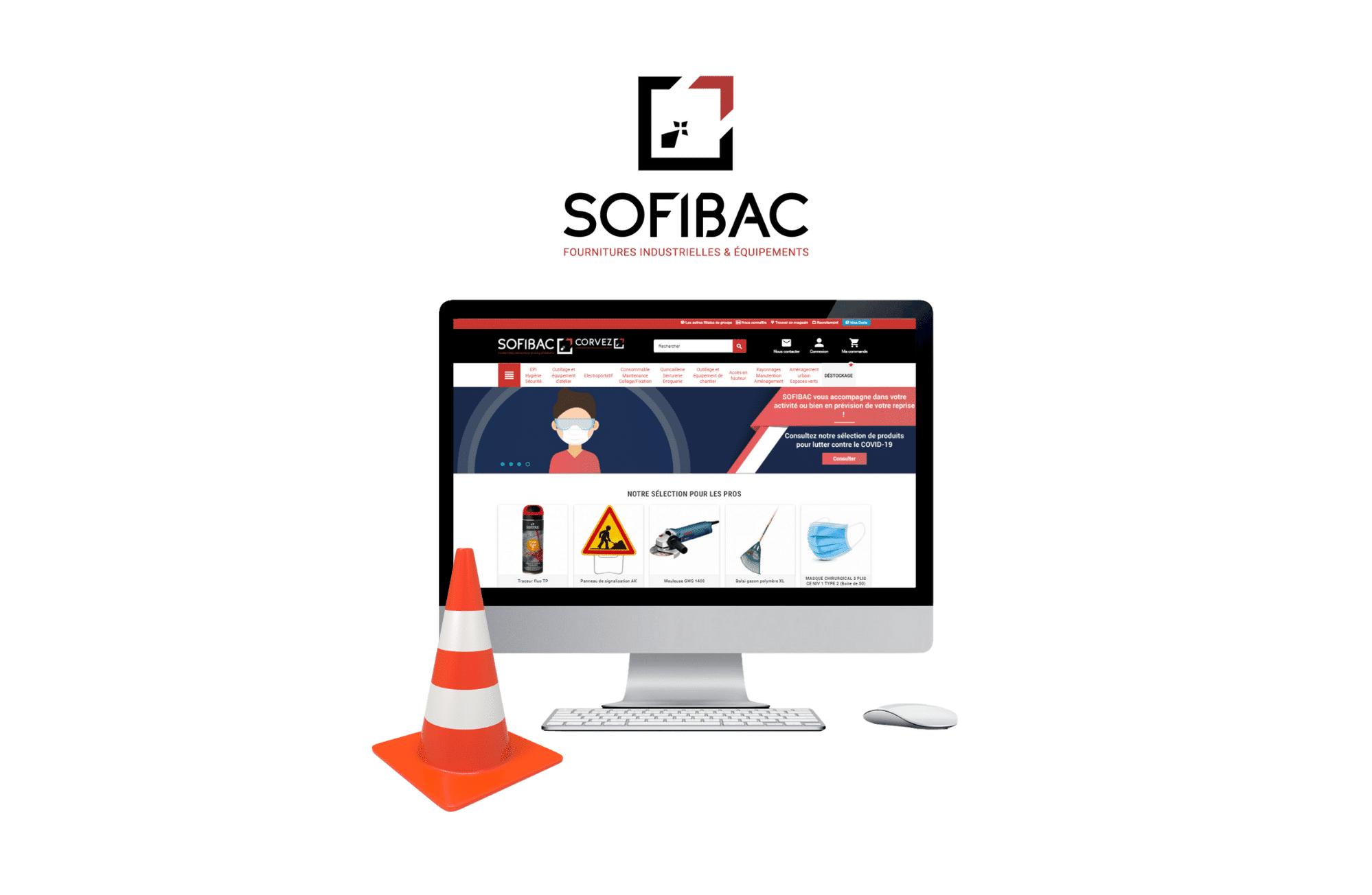 création site internet prestashop Sofibac - cofaq à vannes