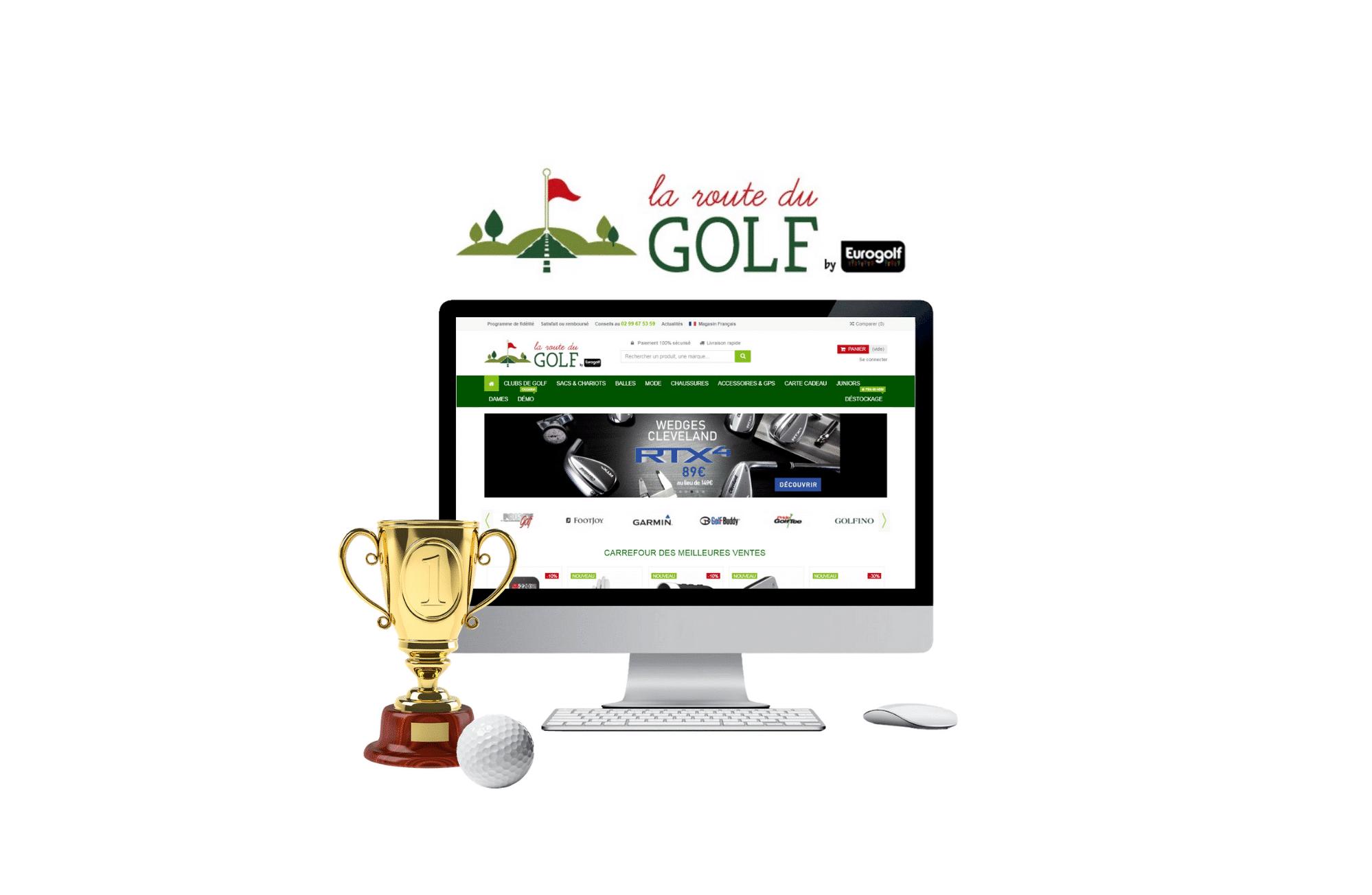 développement site internet la route du golf nantes