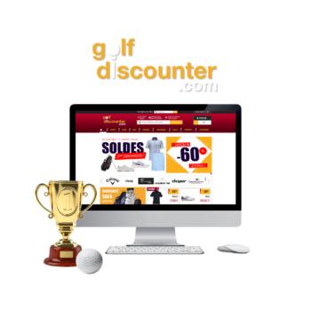 développement site internet golf discounter
