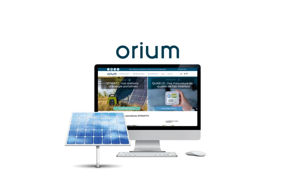 développement site b to b orium à rennes
