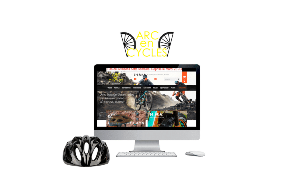 refonte site e-commerce arc en cycles