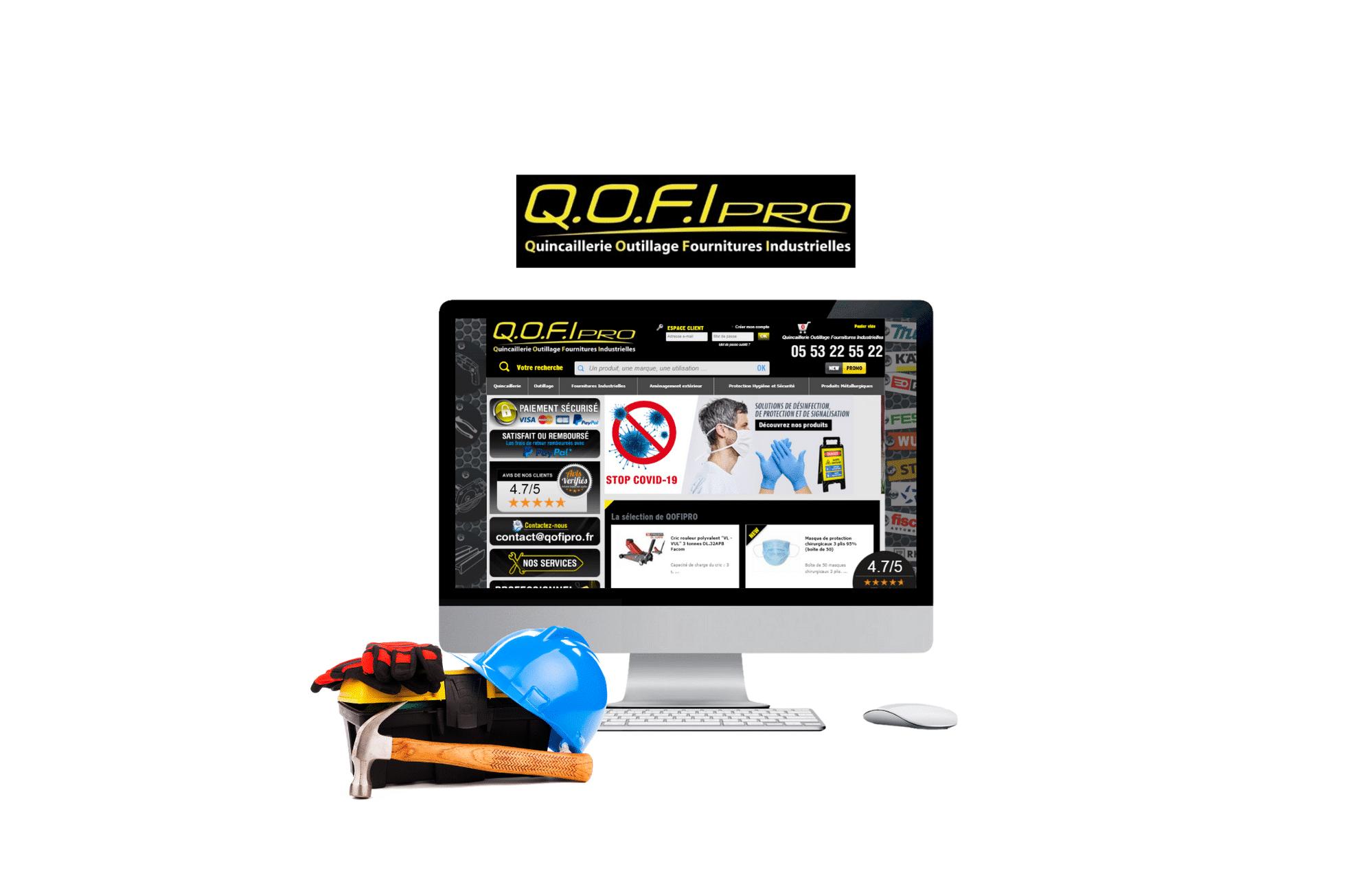 refonte site web DOMPRO - qofipro