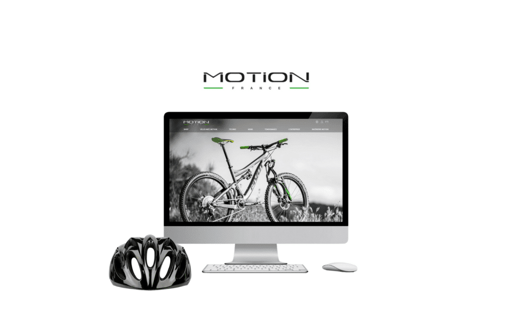 refonte site internet Motion ride