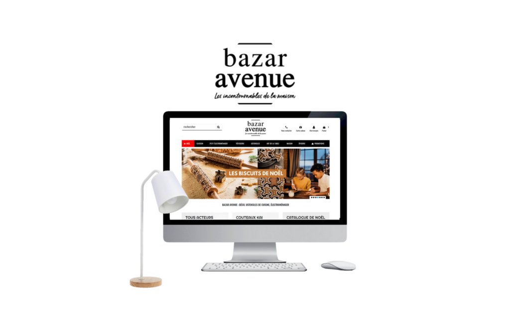 Bazar Avenue Site web