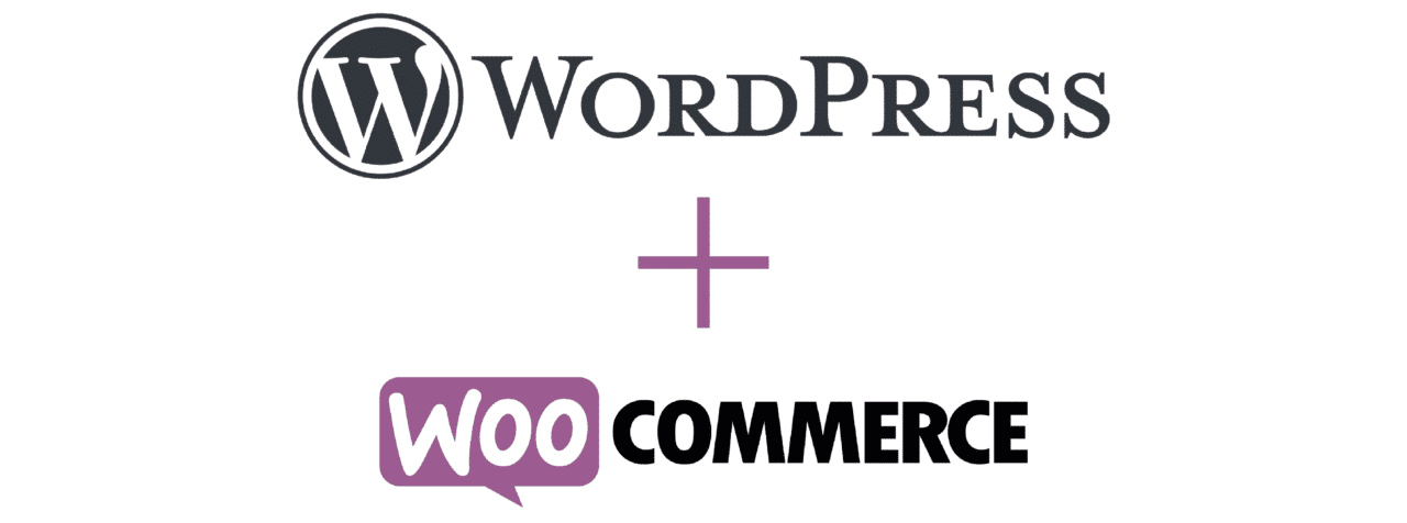 logo wordpress et woocommerce