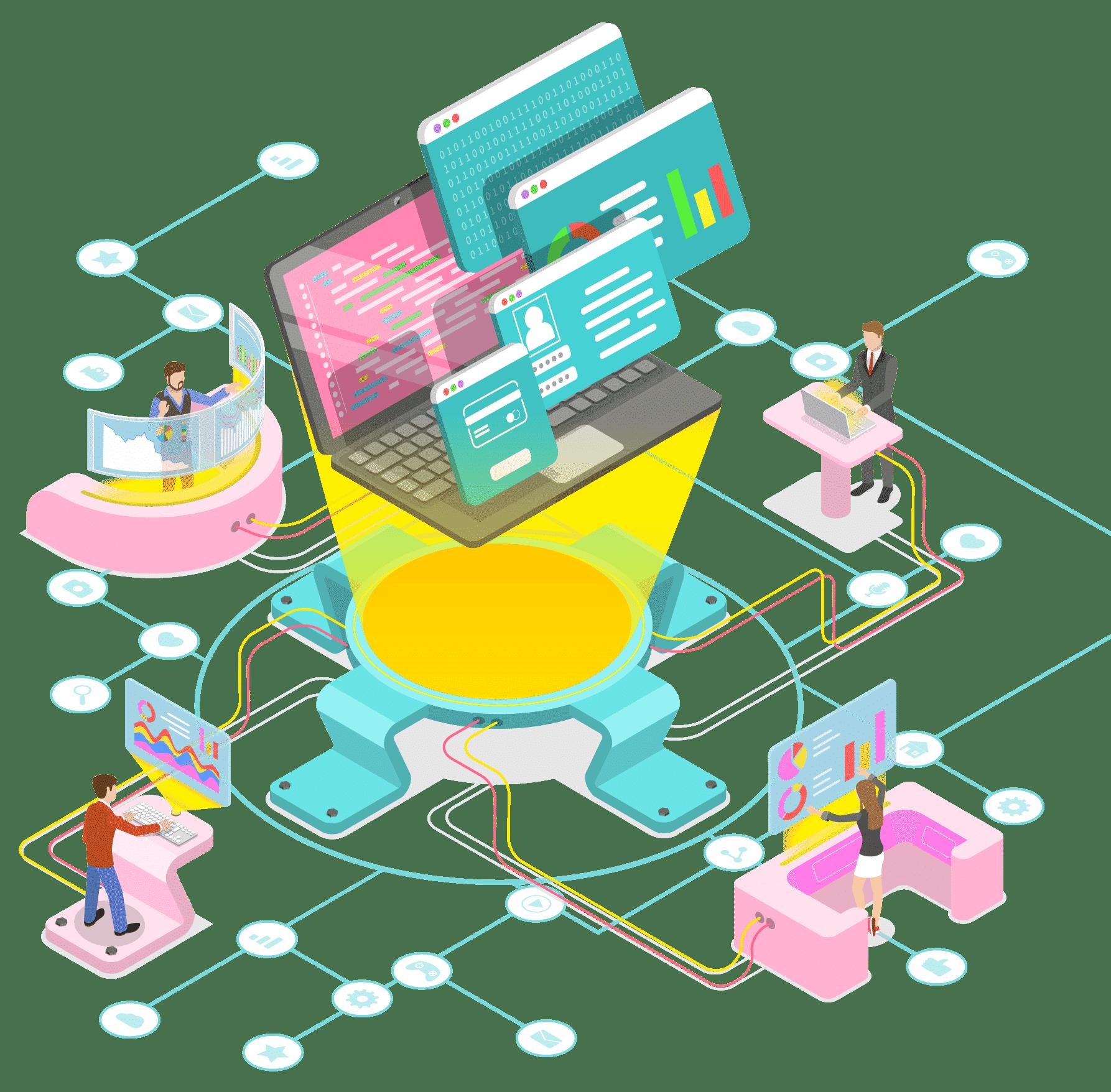 les étapes de la création de site web
