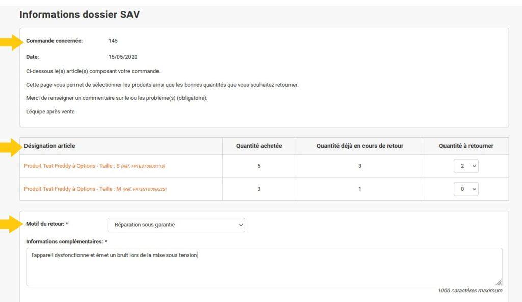 SAV client