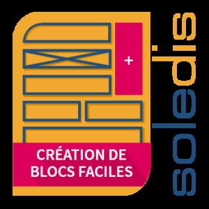 création de blocs faciles